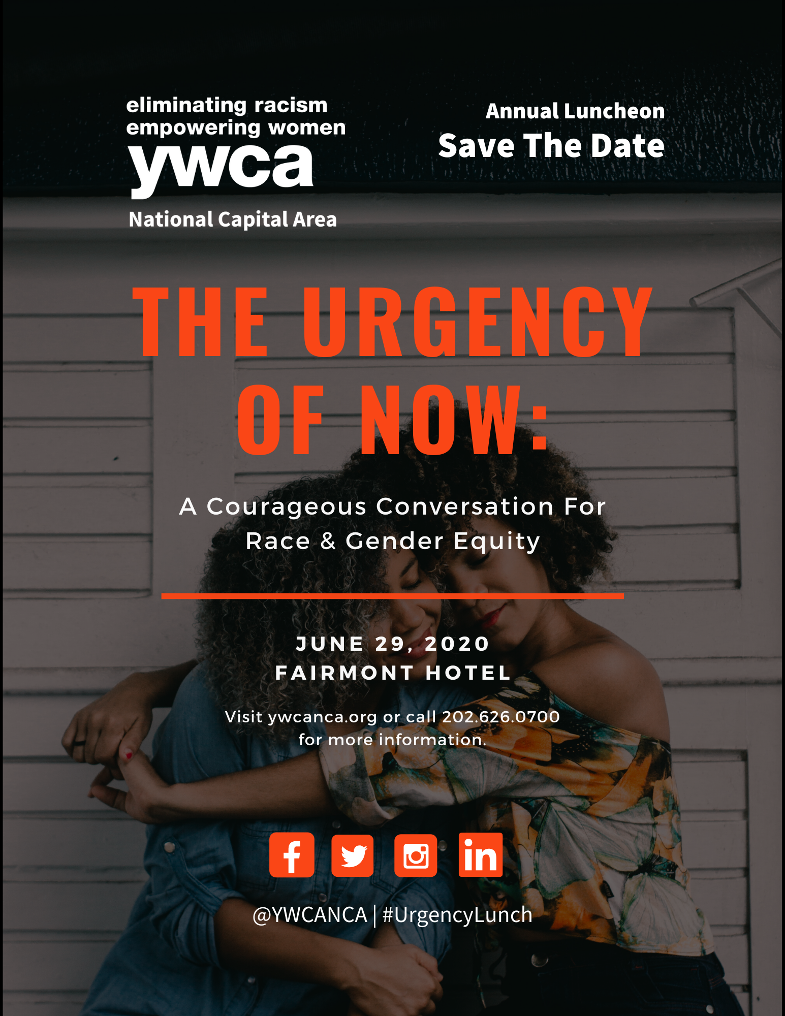 The Urgency of Now: A Courageous Conversation on Race & Gender Equity @ The Fairmont