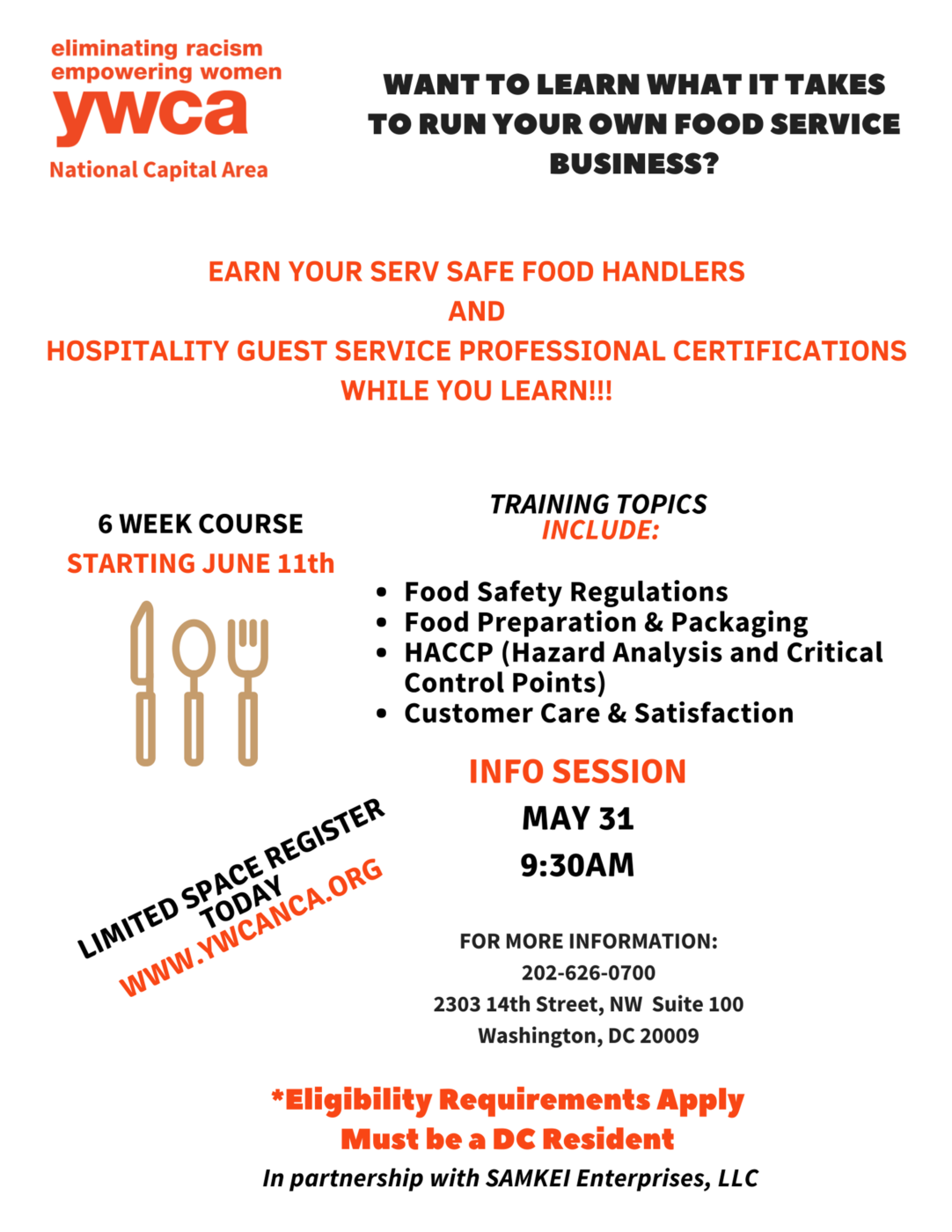 flyer to promote Career Education & Training Center course