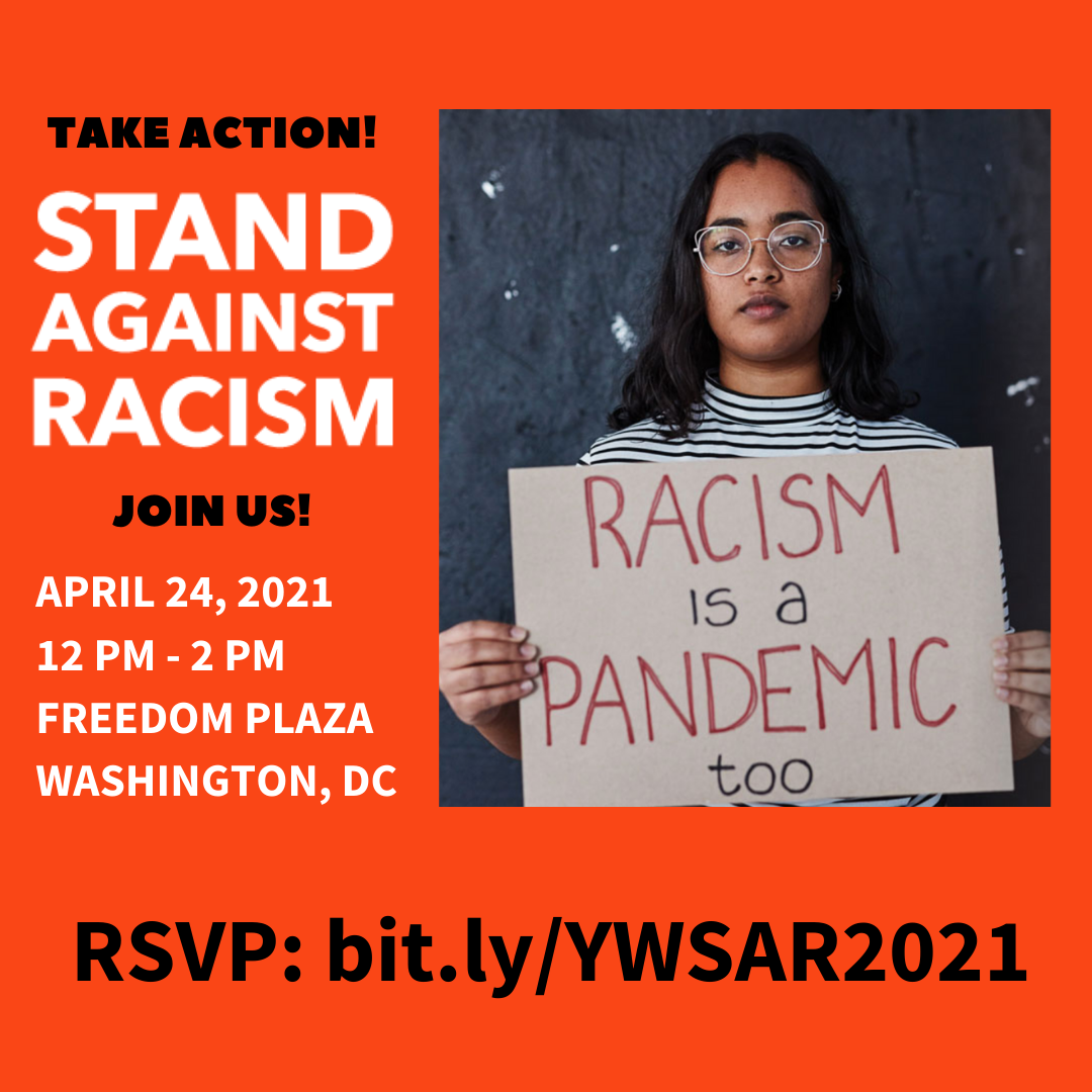 Stand Against Racism 2021 @ Freedom Plaza