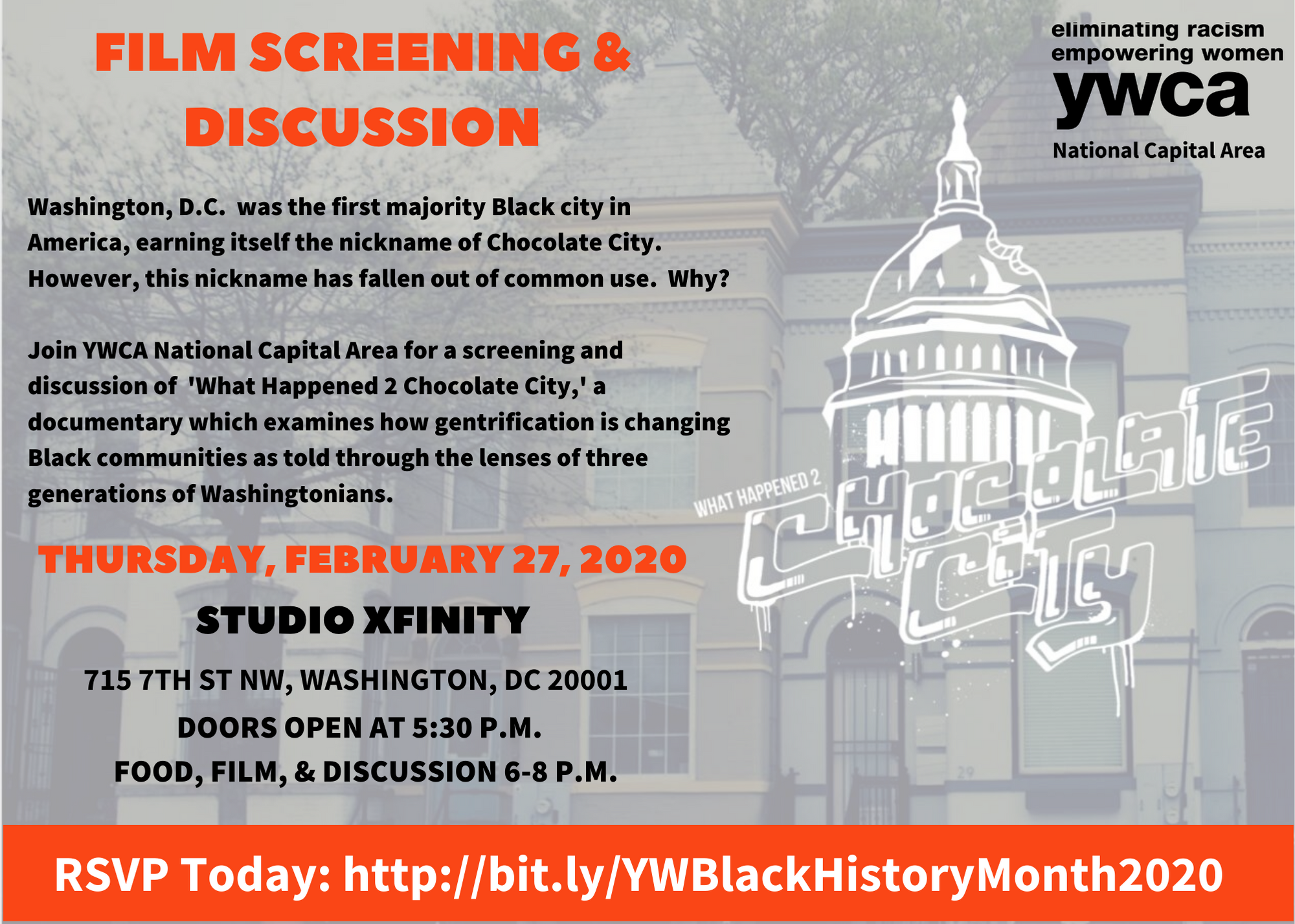 Black History Month Film Screening & Discussion @ XFINITY Store